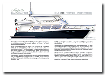 Coastal Craft 520 web specification sheet